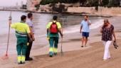 vista previa del artículo La playa de la Albufereta se reabre al público