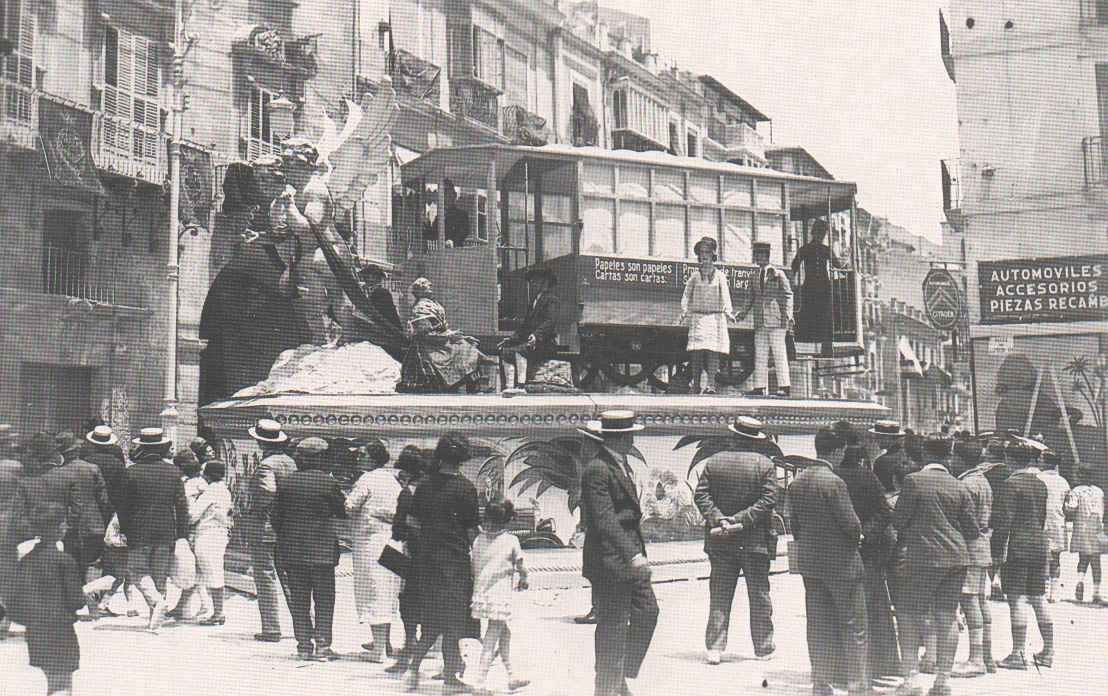 """IMAGENES  """" ALICANTE EN EL RECUERDO """" - Página 4 Alicantehogueras1928"""