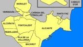vista previa del artículo Organización político-administrativa de Alicante
