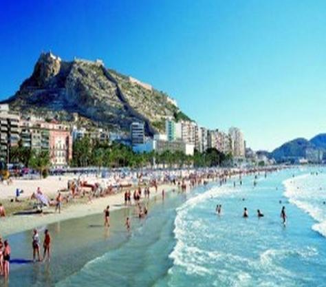 Un día de playa en Alicante