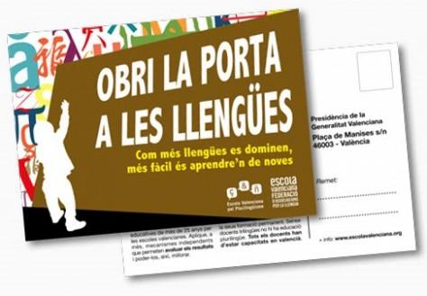 Jornadas sobre enseñanza en valenciano en la Universidad de Alicante
