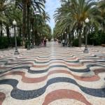 Imágenes de la Explanada de Alicante