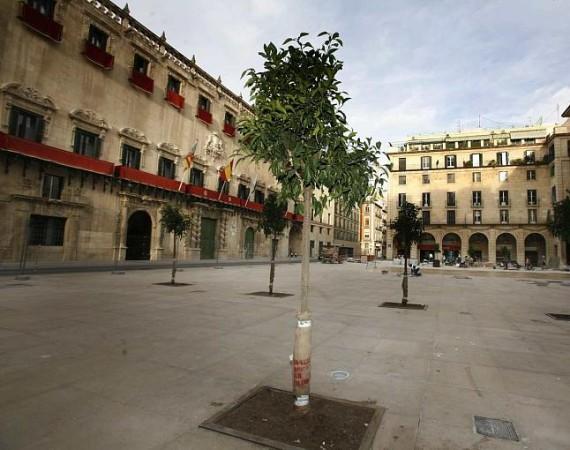 La Plaza del Ayuntamiento de Alicante