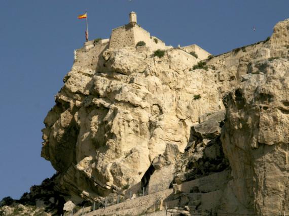 castillo santa barbara alicante
