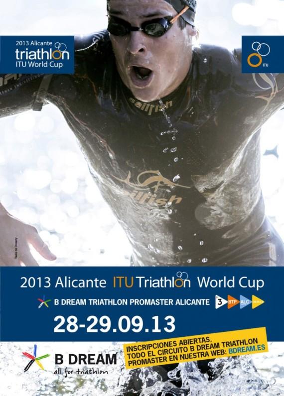 Copa del mundo de triatlón en Alicante