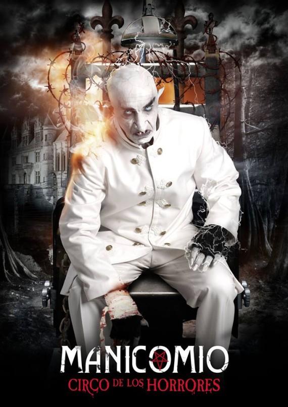 manicomio, circo de los horrores