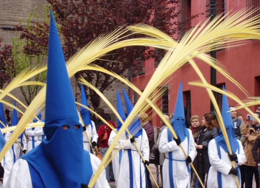 Palmas en Domingo de Ramos
